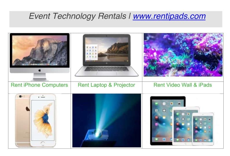 Technology Rental Items