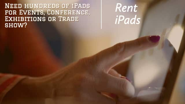 iPad Technology Rental